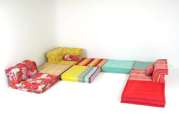 ELEGANT MAH JONG SOFA The Module Has A Low Height Highlighted By An Elegant  Trimmed Edge And The Volume Entirely Wears Vibrant Colors And Retro  Patterns ...