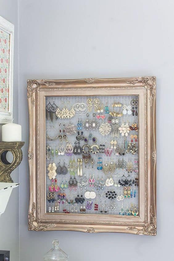 13 sumptuous jewelry organizer - Picture Frame Design Ideas