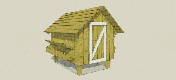 FUNCTIONALLY SIMPLE CHICKEN COOP