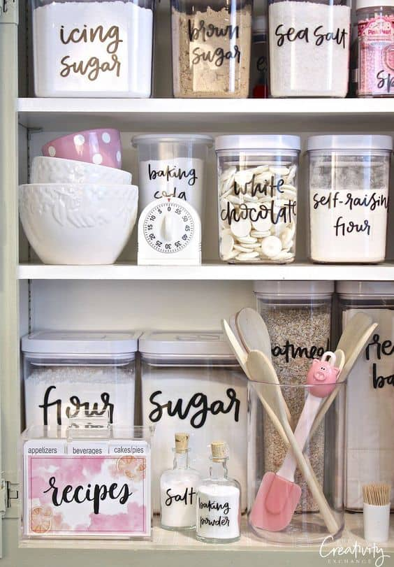 57. IMPORTANCE OF LABELS IN THE KITCHEN