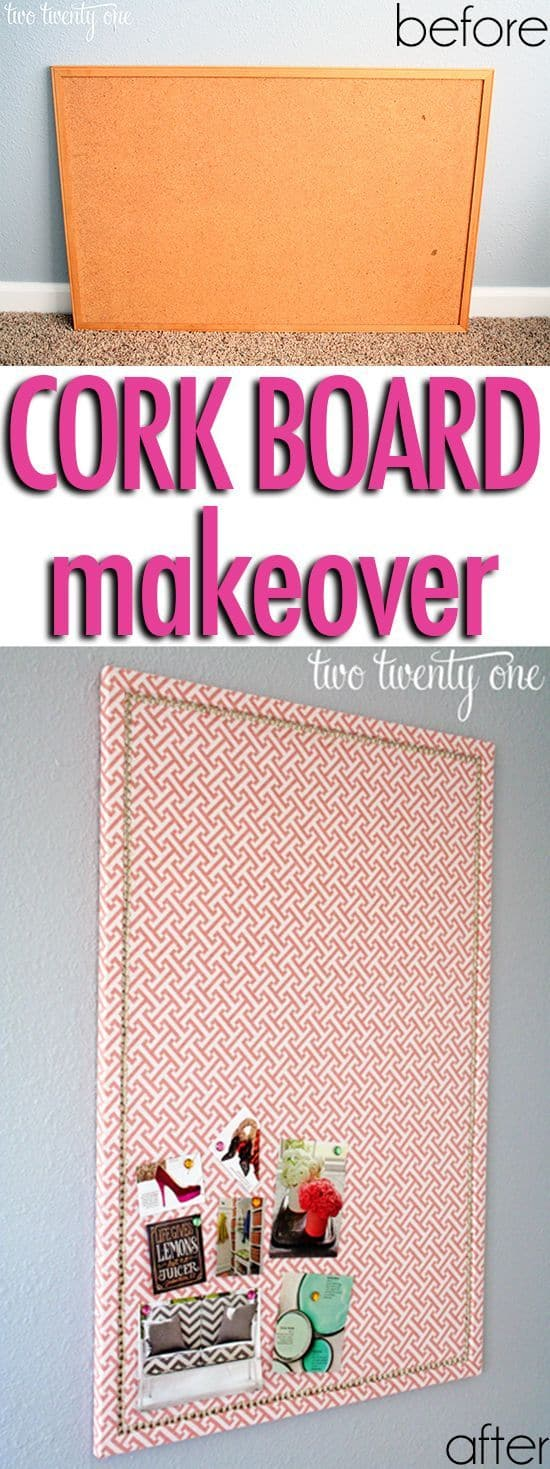 10. SIMPLE PATTERN AND CORK BOARD