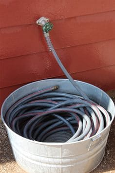 64. HOW TO KEEP GARDEN HOSE STORED