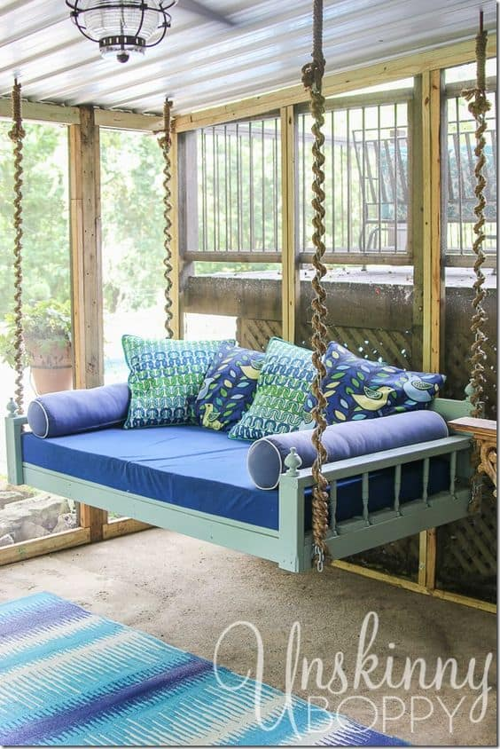 Diy Patio Daybed Easy