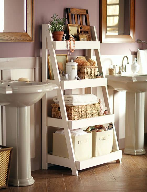 68. CHIC BATHROOM STORAGE SHELF