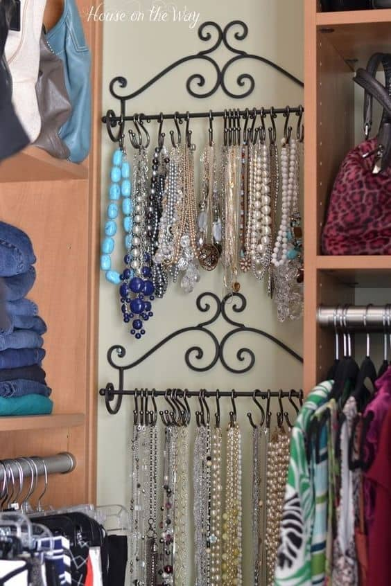 73. JEWELRY STORAGE IDEA