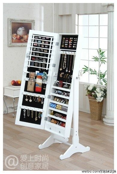 78. full length mirror with jewelry storage area & 111 Of The Best Storage Ideas You Can Definitely Try On Your Home ...