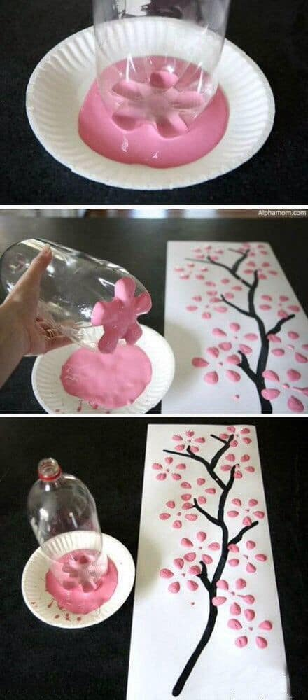 87 How To Paint With A Plastic Bottle
