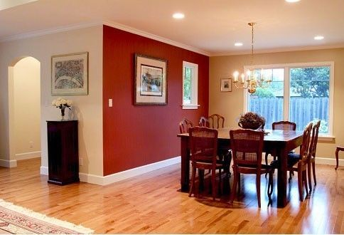 enchanting kitchen red accent wall | 53 Bold Red Accent Walls to Beautify Your Home ...