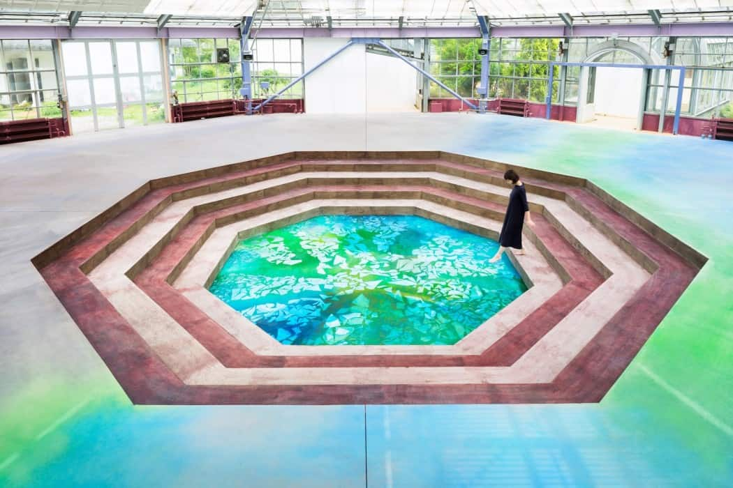 Botanical Garden Transformed in a Museum WaterscapeMemory of Spring 12