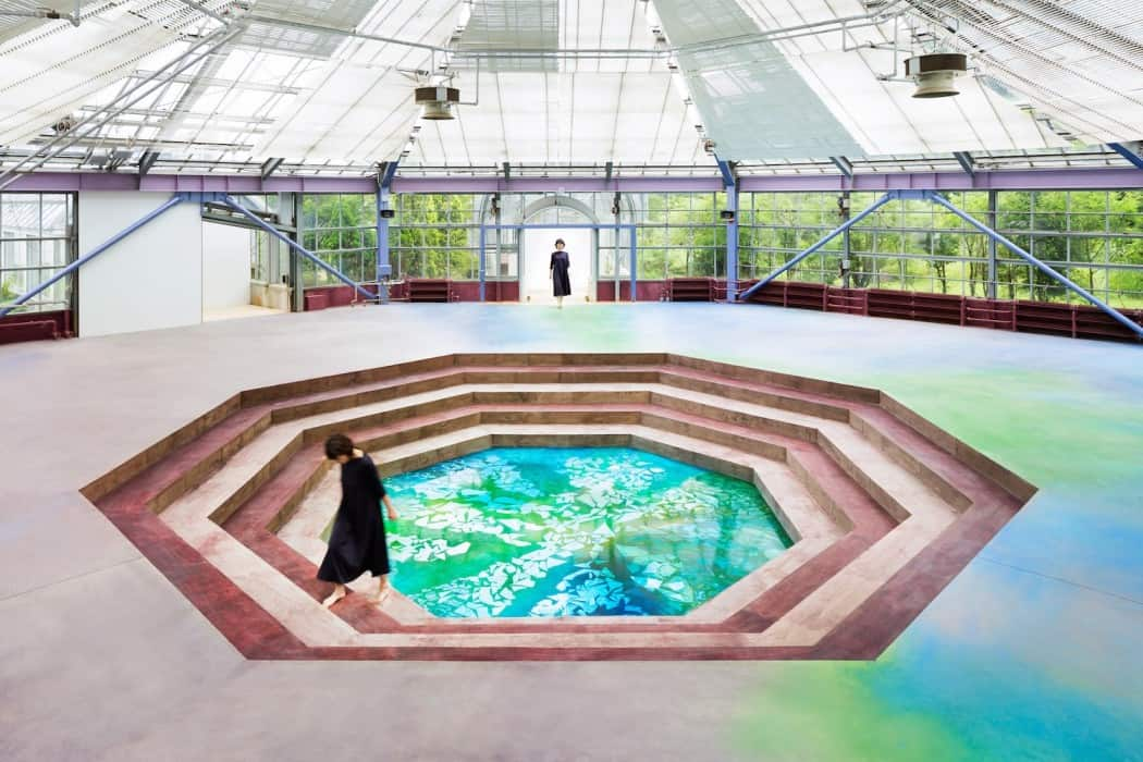Botanical Garden Transformed in a Museum WaterscapeMemory of Spring 4