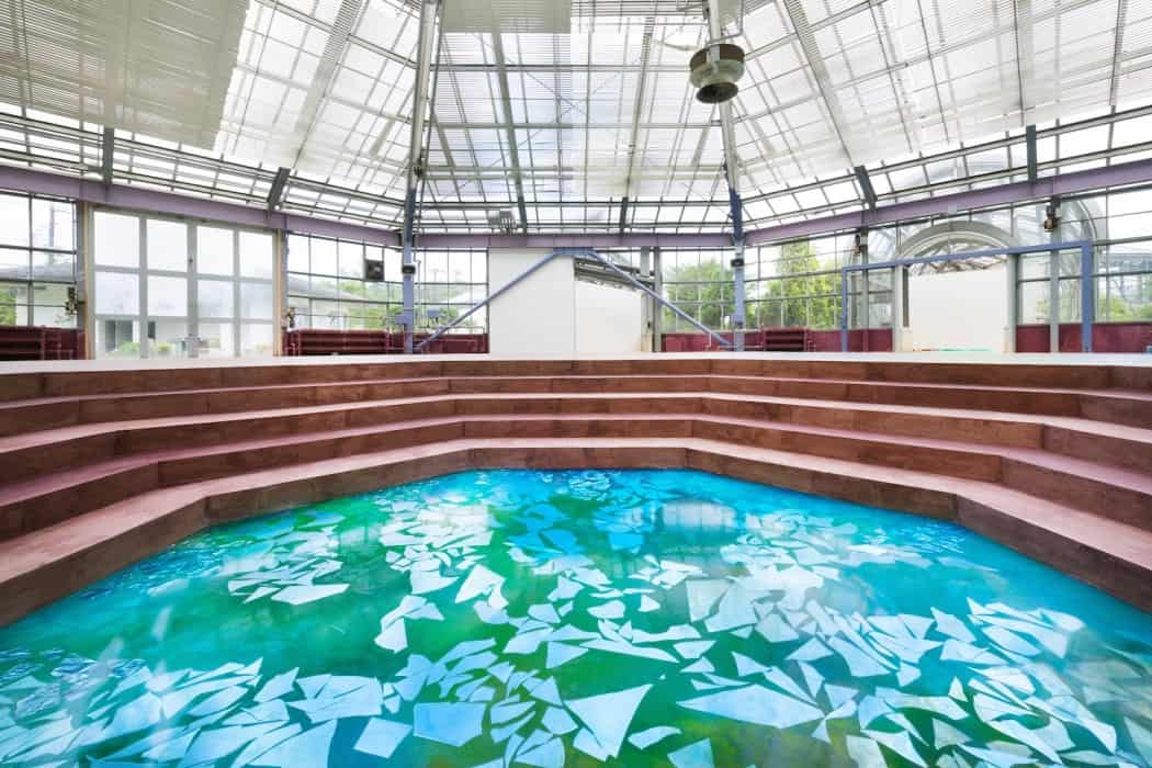 Botanical Garden Transformed in a Museum WaterscapeMemory of Spring 6