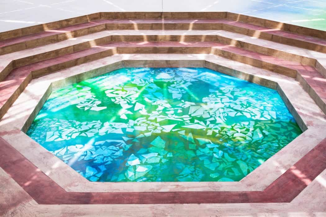 Botanical garden transformed into a museum waterscape for Waterscape garden designs