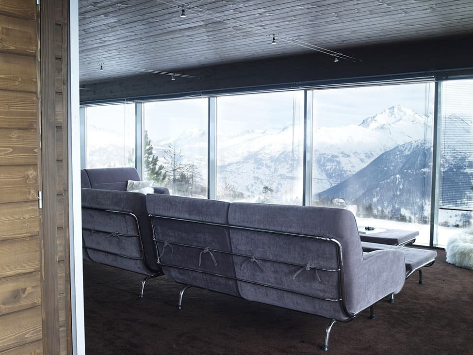 Contemporary Elegance in Solitutide - Chalet Camelot by con3studio Winter Chalet (14)