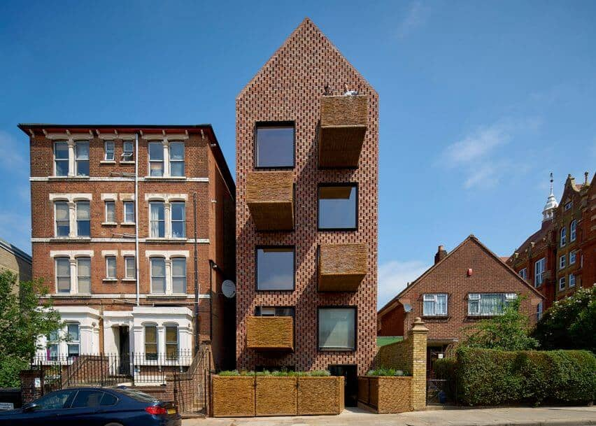 Cross Laminated Timber Wrapped in Brick by Amin Taha Architects 1