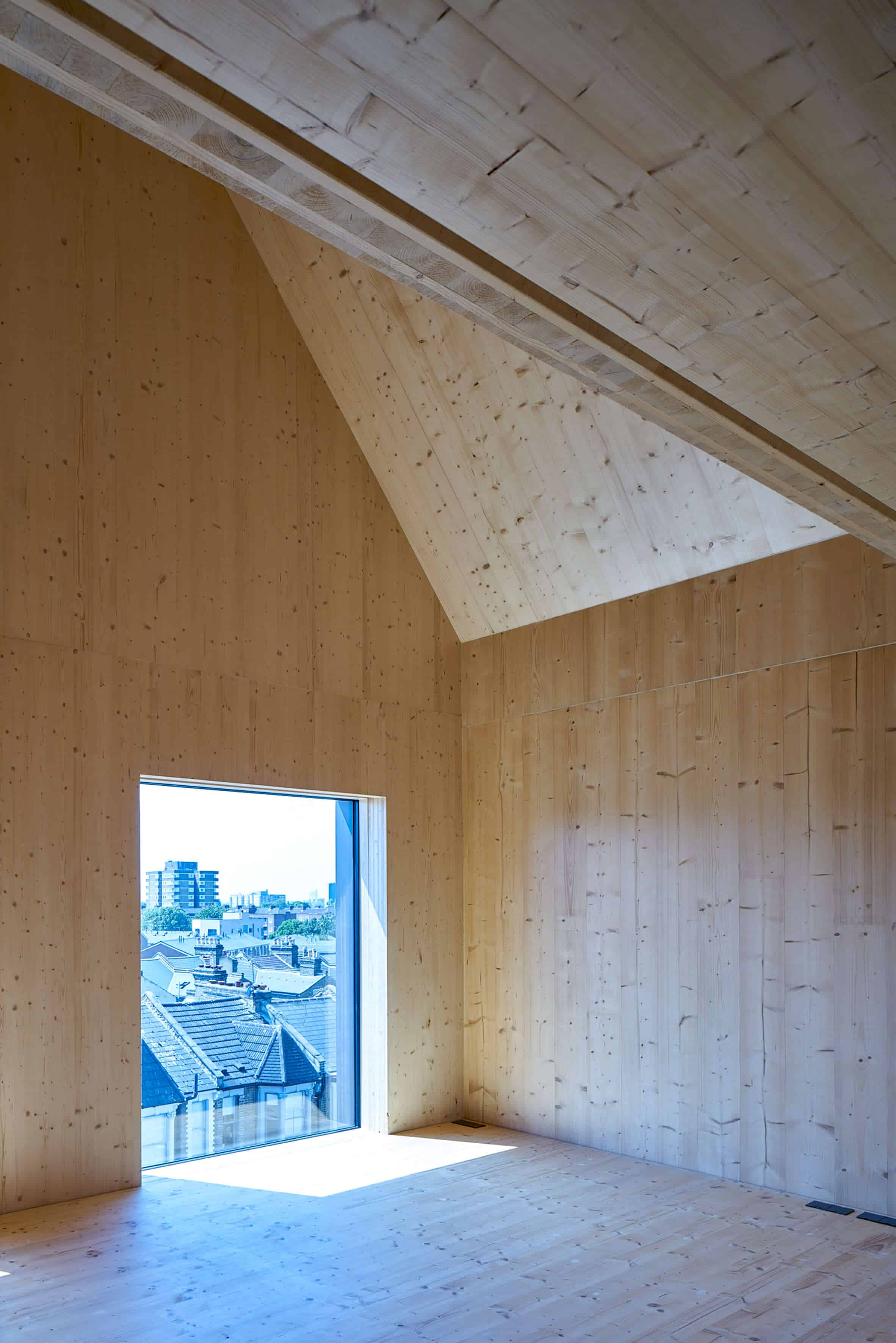 Cross Laminated Timber Wrapped in Brick by Amin Taha Architects 3