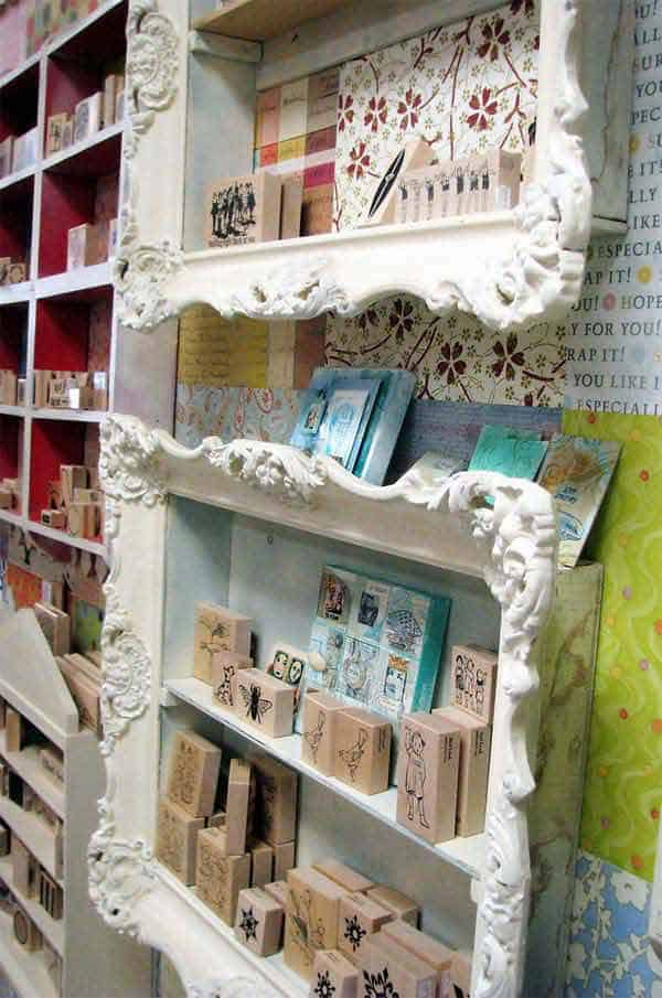 24. SHAPE ELEGANT PICTURE FRAME SHELVES