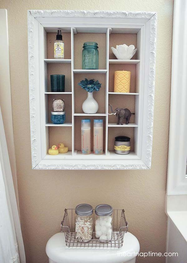 27. SIMPLE ELEGANT SPA SHELF
