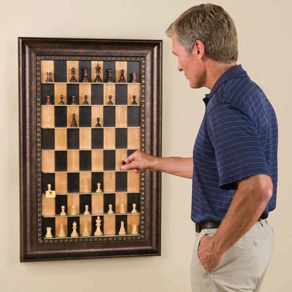 37. PLAY CHESS IN THE VERTICAL PLANE