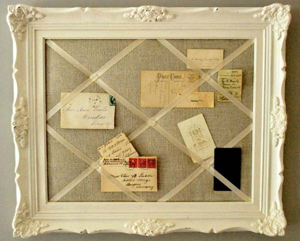 39. EPIC OLD PICTURE FRAME ORGANIZER
