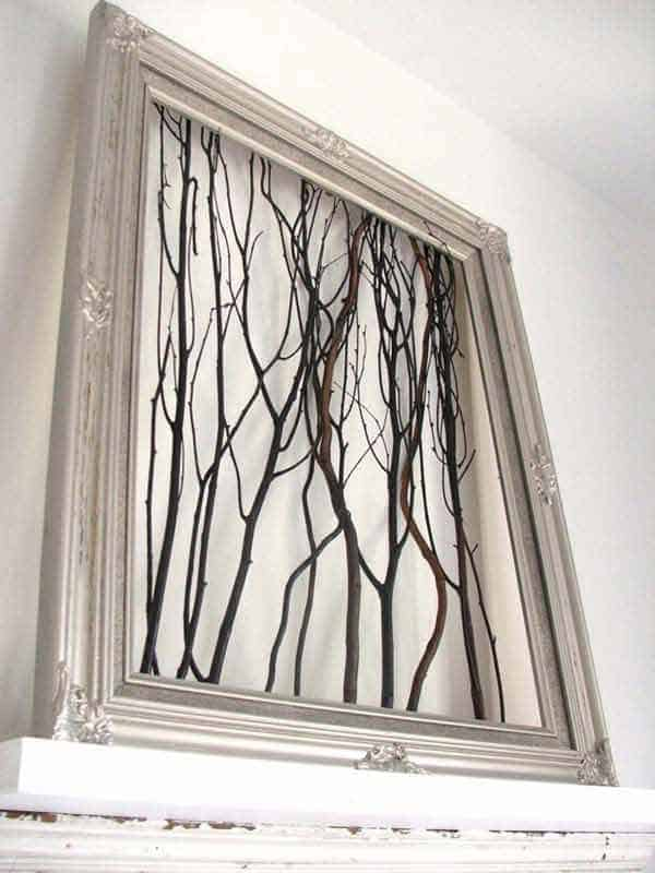 47. SCULPTURAL NATURALNESS IN TWIGS AND BRANCHES