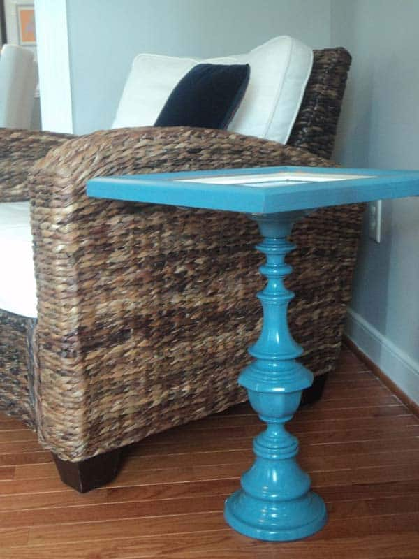 10. SCULPT AN EXTRAORDINARY SIDE TABLE FROM PICTURE FRAME