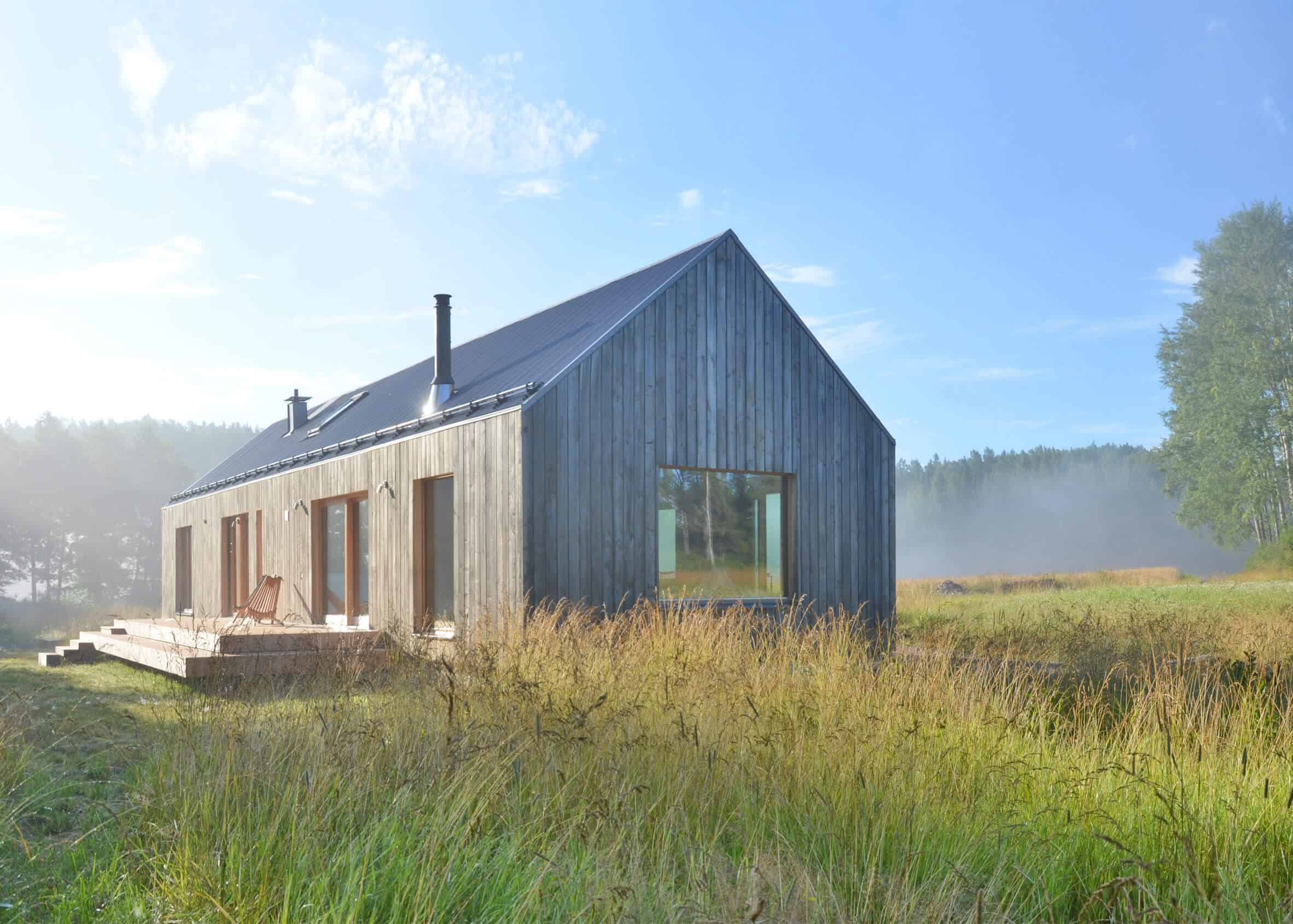 Iconic Simplicity in a Finnish LakeHouse by MNy Arkitekter (12)