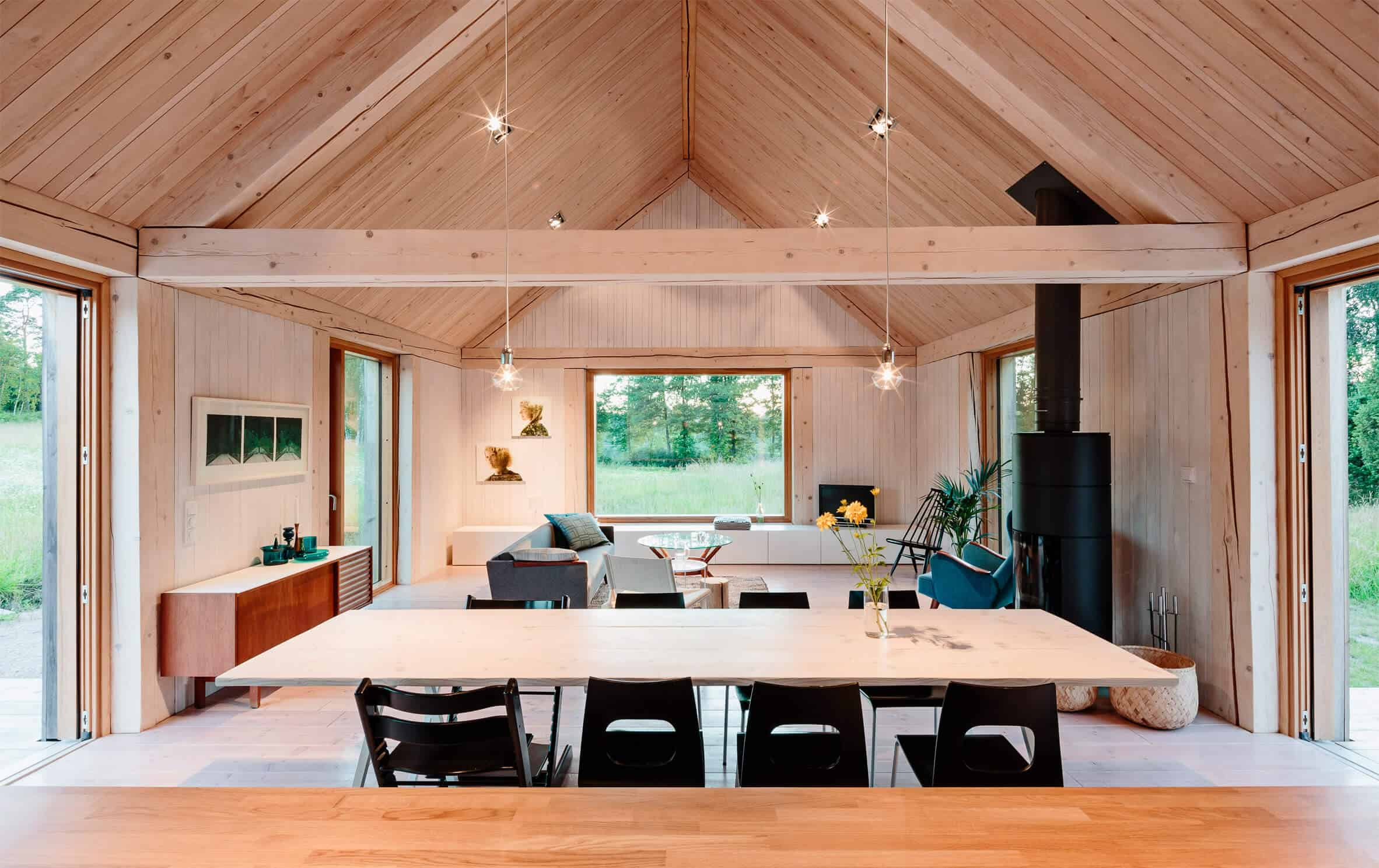 Iconic Simplicity in a Finnish LakeHouse by MNy Arkitekter (8)