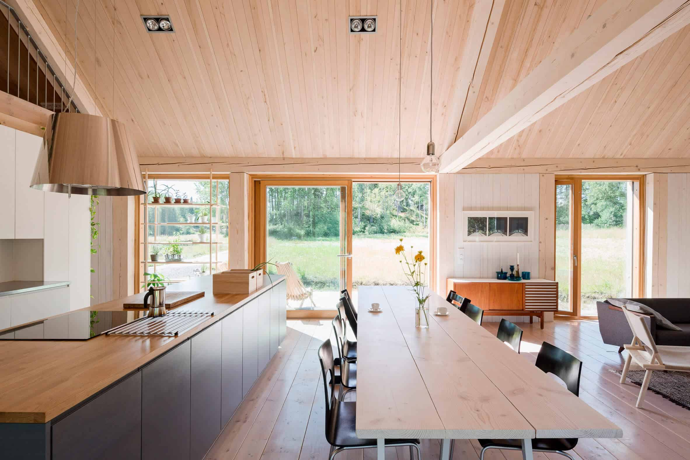 Iconic Simplicity in a Finnish LakeHouse by MNy Arkitekter (9)