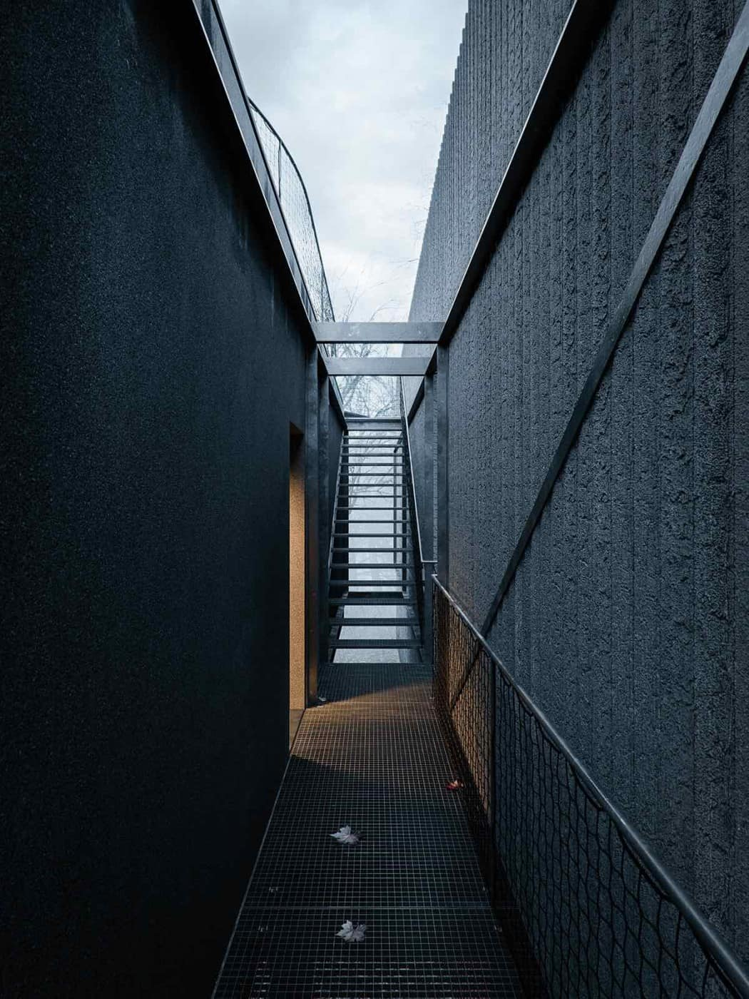 Mask House Designed by WOJR in Ithaca New York 2