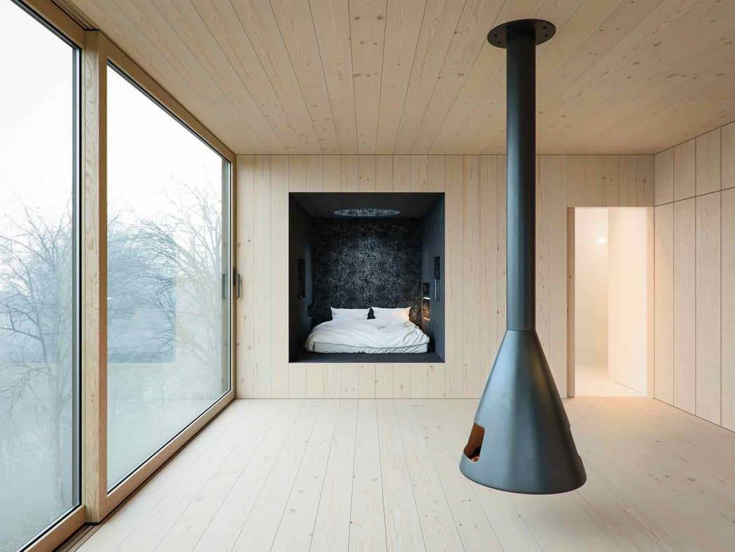 Mask House Designed by WOJR in Ithaca New York 4