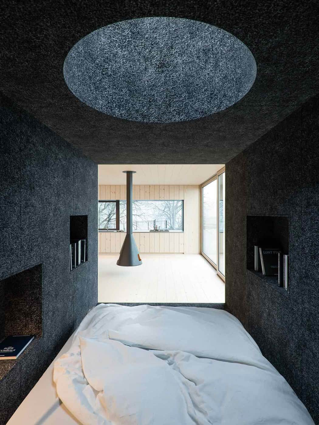 Mask House Designed by WOJR in Ithaca New York 7