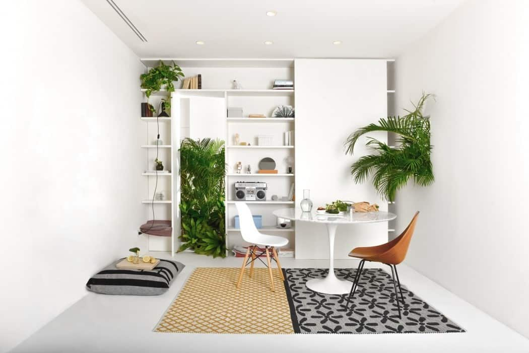 Modern Flat Filled With Greenery In Milan homesthetics 1