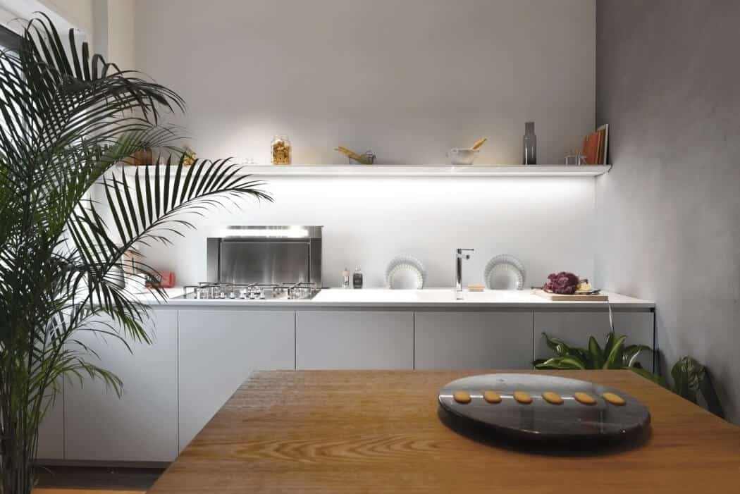 Modern Flat Filled With Greenery In Milan homesthetics 2