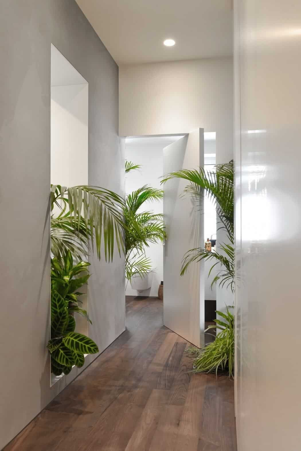 Modern Flat Filled With Greenery In Milan homesthetics 8