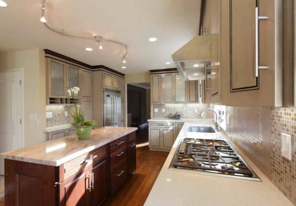 48 Exceptionally Inspiring Track Lighting Ideas To Pursue Classy Kitchen Track Lighting Ideas