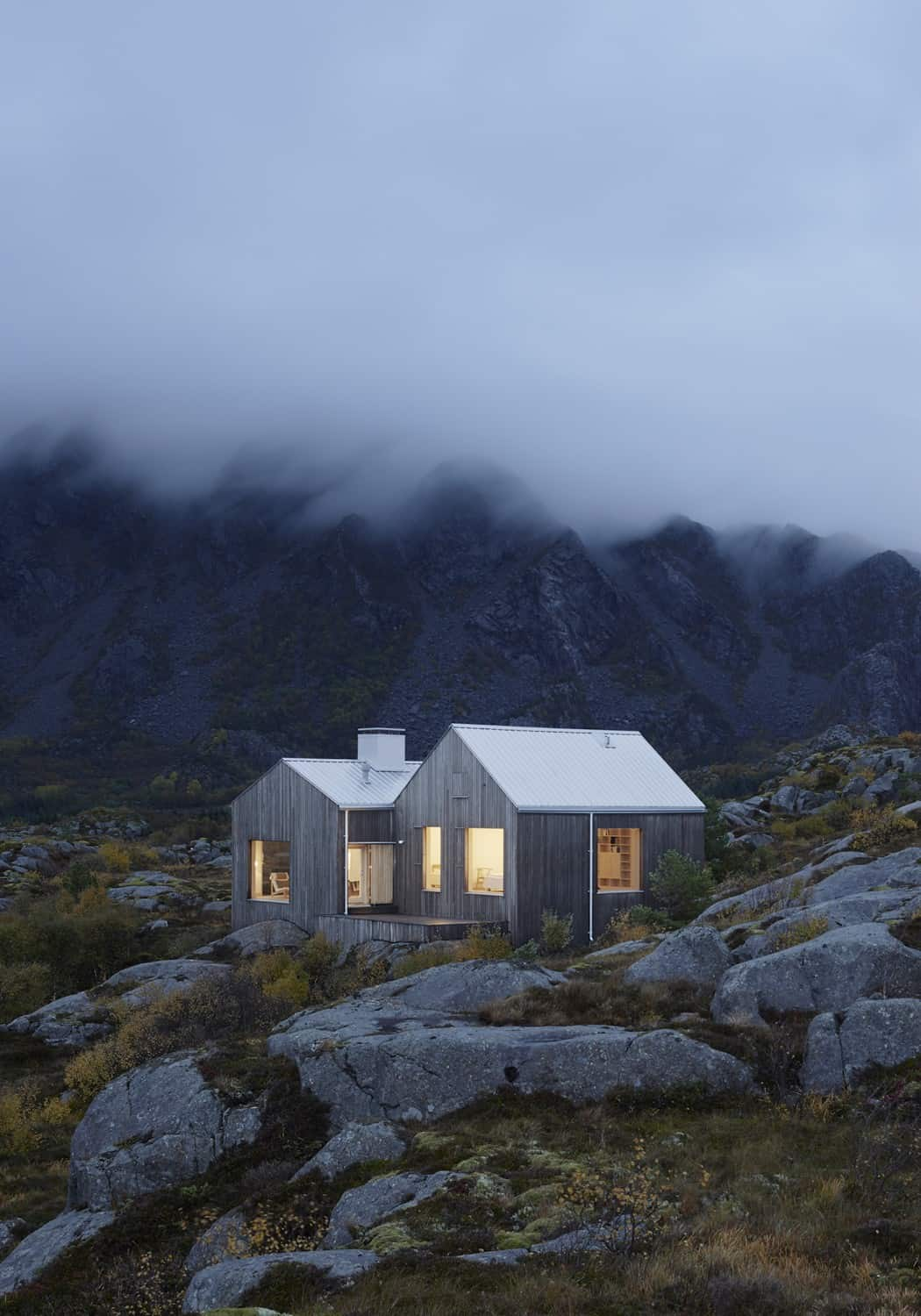 Norwegian Sea Vega Island Adorns Cottage by Kolman Boye (16)