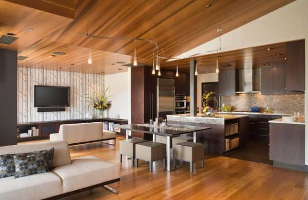Pendant-lights-used-as-part-of-track-lighting-for-dining-area-and-the-kitchen
