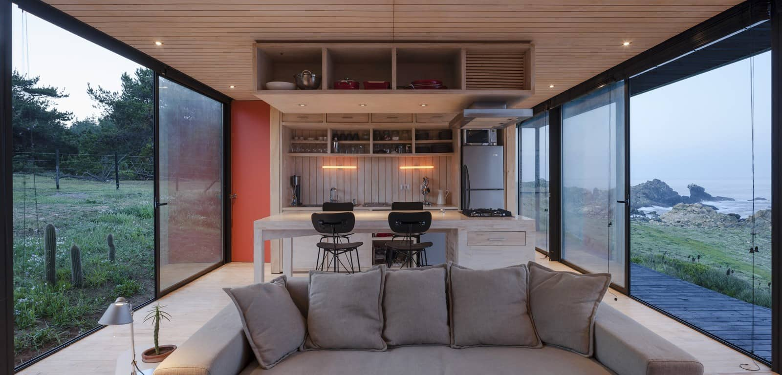 Remote Transportable Modular House in Chile by Felipe Assadi 9