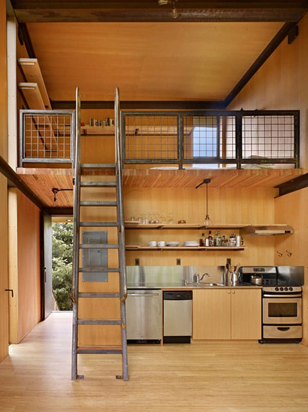 Sol Duc Cabin Epic Steel Clad Fishing Cabin Designed by Olson Kundig Architects 1 5