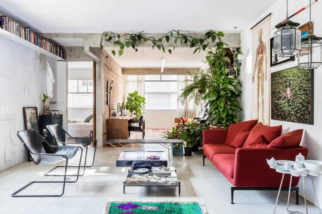 Splendid Eclectic São Paulo Apartment by RSRG Architects 1