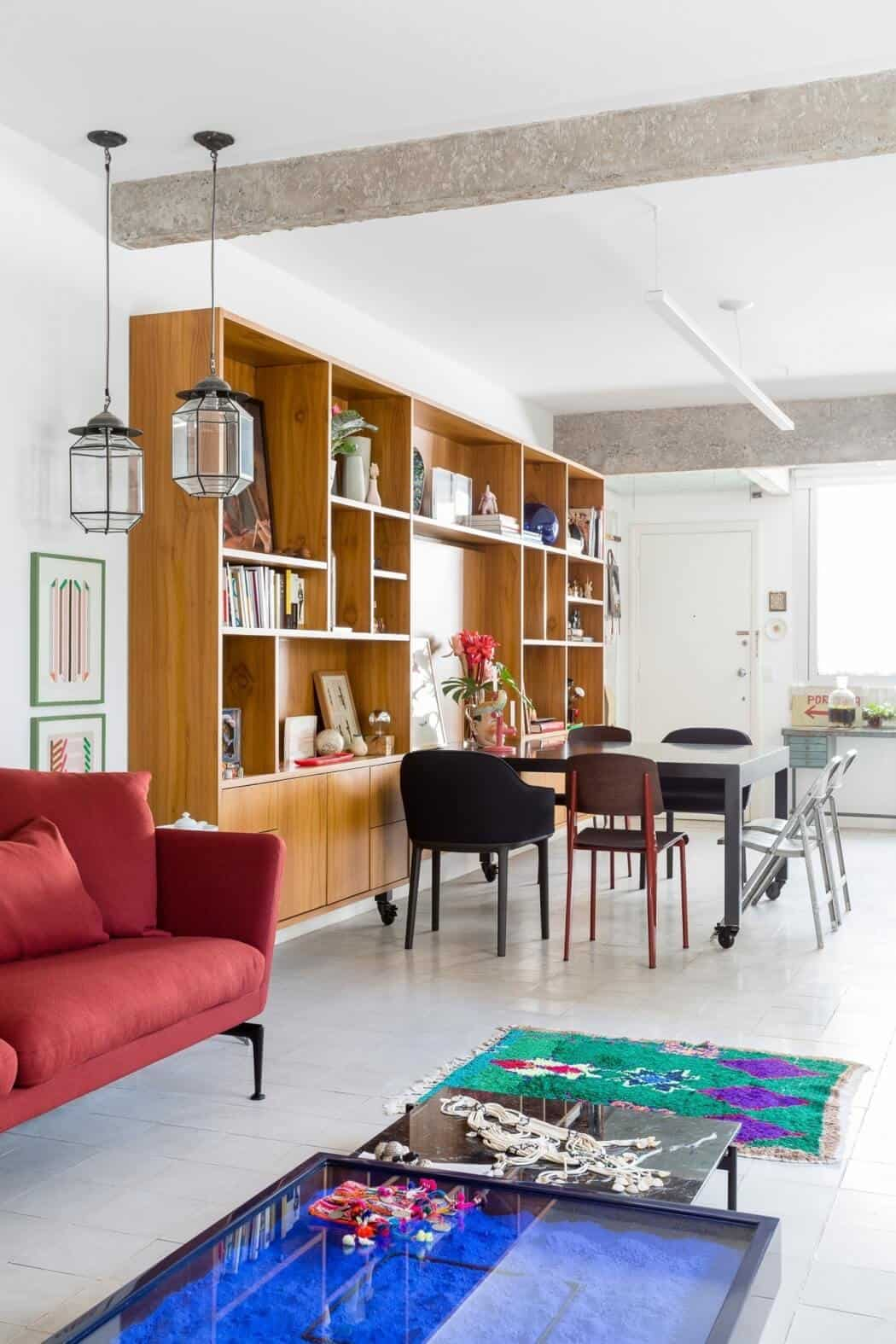 Splendid Eclectic São Paulo Apartment by RSRG Architects 5