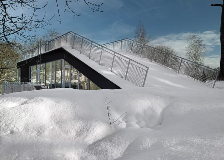 Swedish Home With a Sled Hill Roof by Street Monkey Architects 2