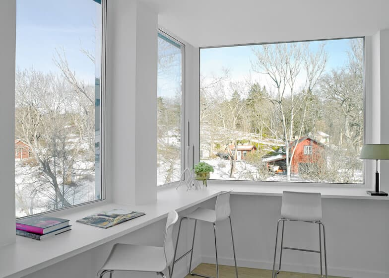 Swedish Home With a Sled Hill Roof by Street Monkey Architects 4