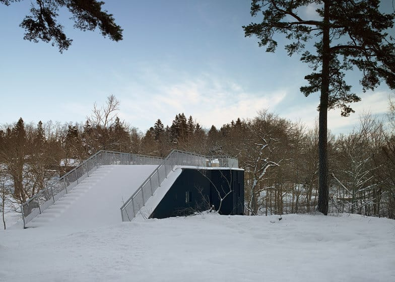 Swedish Home With a Sled Hill Roof by Street Monkey Architects 8