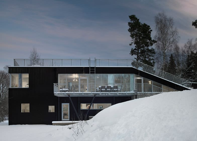 Swedish Home With a Sled Hill Roof by Street Monkey Architects 9