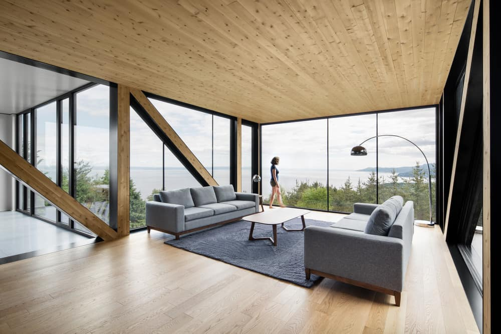 The Blanche Chalet Surrounded By Nature homesthetics 5
