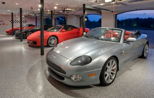 Track-lighting-works-beautifully-when-it-comes-to-showcasing-your-vehicles-in-a-home-garage
