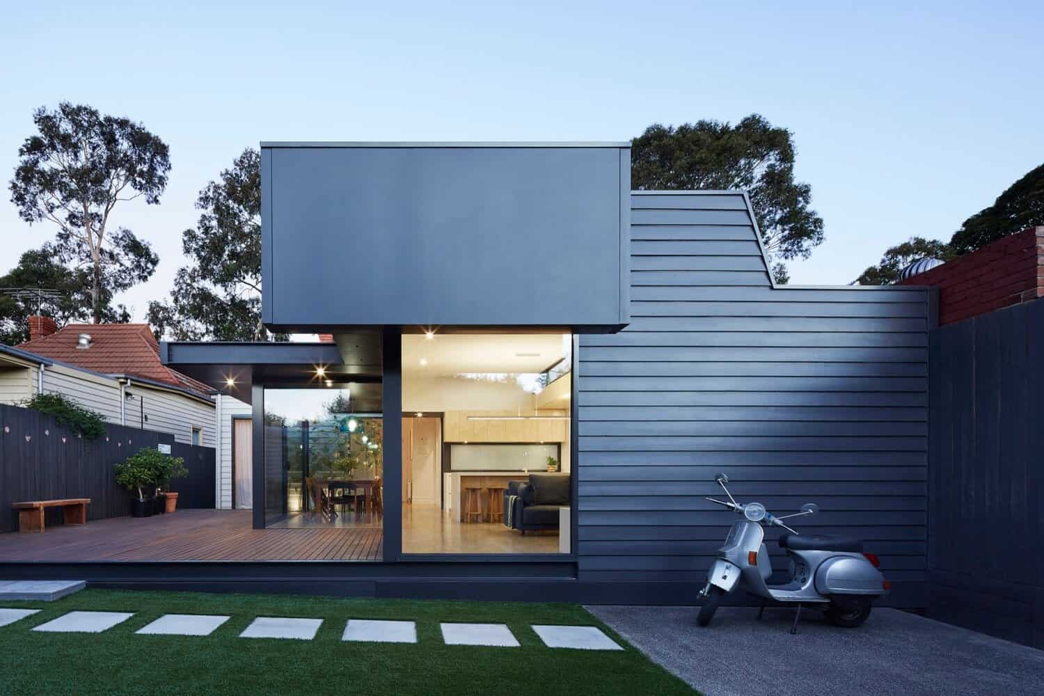 Victorian Home Updated with Modern Pod by Nic Owen Architects 2