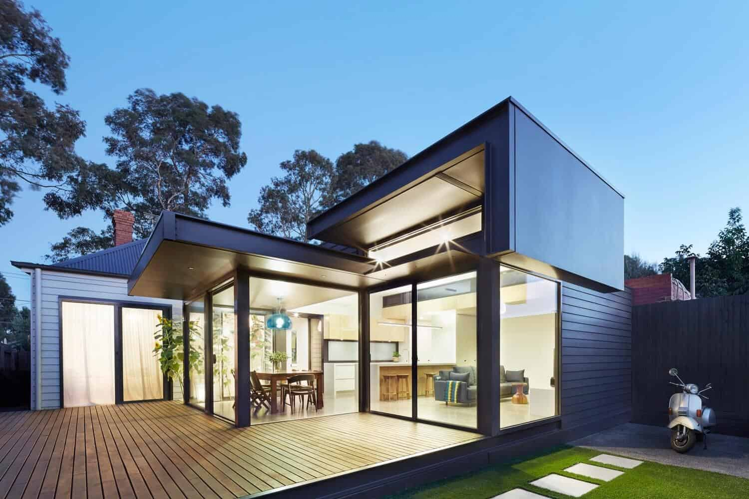 Victorian Home Updated with Modern Pod by Nic Owen Architects 5