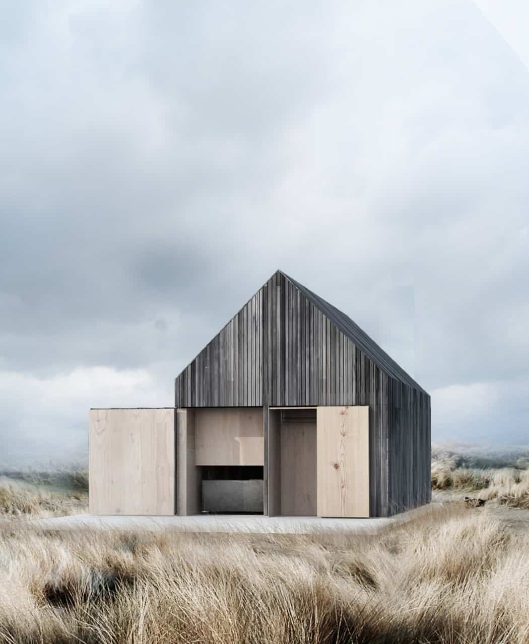 WE Architecture Designs Boat House in Danish Island Zealand
